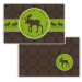 Moose Personalized Placemat