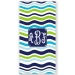 Boats - Nautical Personalized Beach Towel