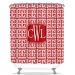 Athens Greek Personalized Shower Curtain