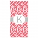 Criss Cross Trellis Personalized Beach Towel