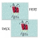 Hedgehog Personalized Placemat, Custom Personalized Girls & Boys Placemat