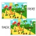 Personalized Boys Placemant - Roaring Dinosaur