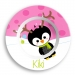 Penguin Girl Personalized Microwave Safe Bowl