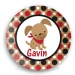 Puppy Boys Personalized  Plate