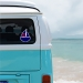 Sailboat Personalized Window Decal or Bumper Sticker