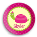 Turtle Girls Personalized Plate