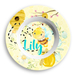 Honey Bee Personalized Girls Birthday Bowl