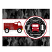 Fire Engine Fire Station Personalized Kids Puzzle