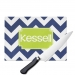 Chevron Monogrammed Cutting Board