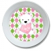 Bear Heart Personalized Valentine Bowl