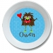 Valentine Monster Personalized Bowl
