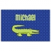 Alligator Boys Personalized Placemat