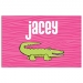 Alligator Girls Personalized Placemat