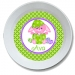 Bunny Chick Personalized Easter Bowl