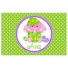 Bunny Chick Personalized Easter Placemat