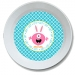 Bunny Monster Girls Personalized Easter Bowl