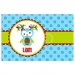 Light Owl Personalized Christmas Placemat