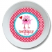 Monster Love Personalized Valentine Bowl