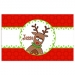 Goofy Reindeer Personalized Christmas Placemat