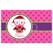 Santa Owl Personalized Christmas Placemat