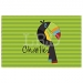 Toucan Personalized Placemat