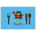 Valentine Monster Boys Personalized Placemat