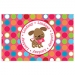 Valentine Puppy Personalized Placemat