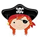 Red Hair & Eye Patch